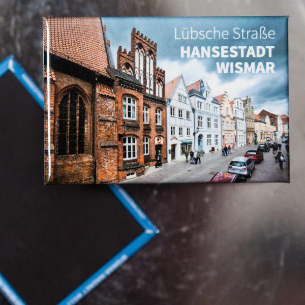 W049-M: Magnet Wismar: Lübsche Straße mit Welterbehaus