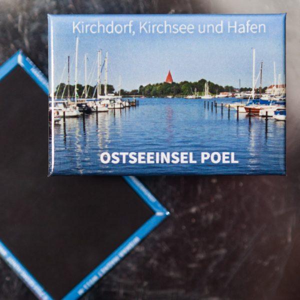 P003-M: Magnet Insel Poel: Kirchwall in Kirchdorf vom Forellenhof aus