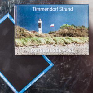 P004-M: Magnet Insel Poel: Strand mit Leuchtturm Timmendorf Strand