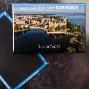 S003-M: Magnet Luftbild Schweriner Schloss