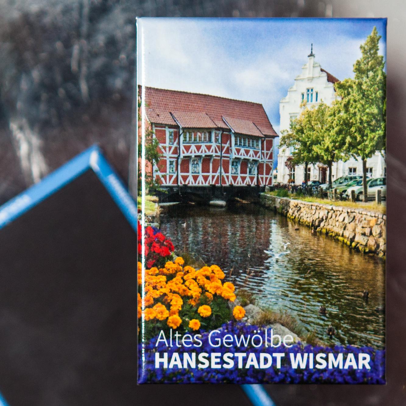 """W039-M: Magnet Wismar: Altes Gewölbe, runde Grube und """"New Orleans"""""""
