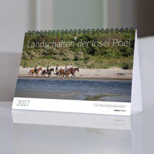 """Kalender 2017 """"Landschaften der Insel Poel"""" von Georg Hundt"""