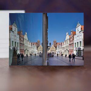 Krämerstraße und Schaufenster des ersten Warenhauses von Rudolph Karstadt