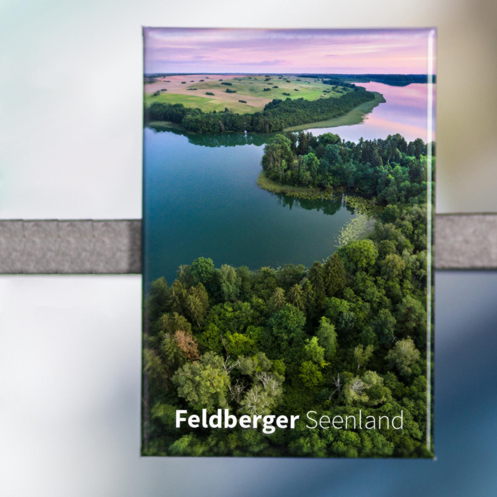Magnet FS02-M Feldberger Seenlandschaft: Breiter Luzin bei Lichtenberg