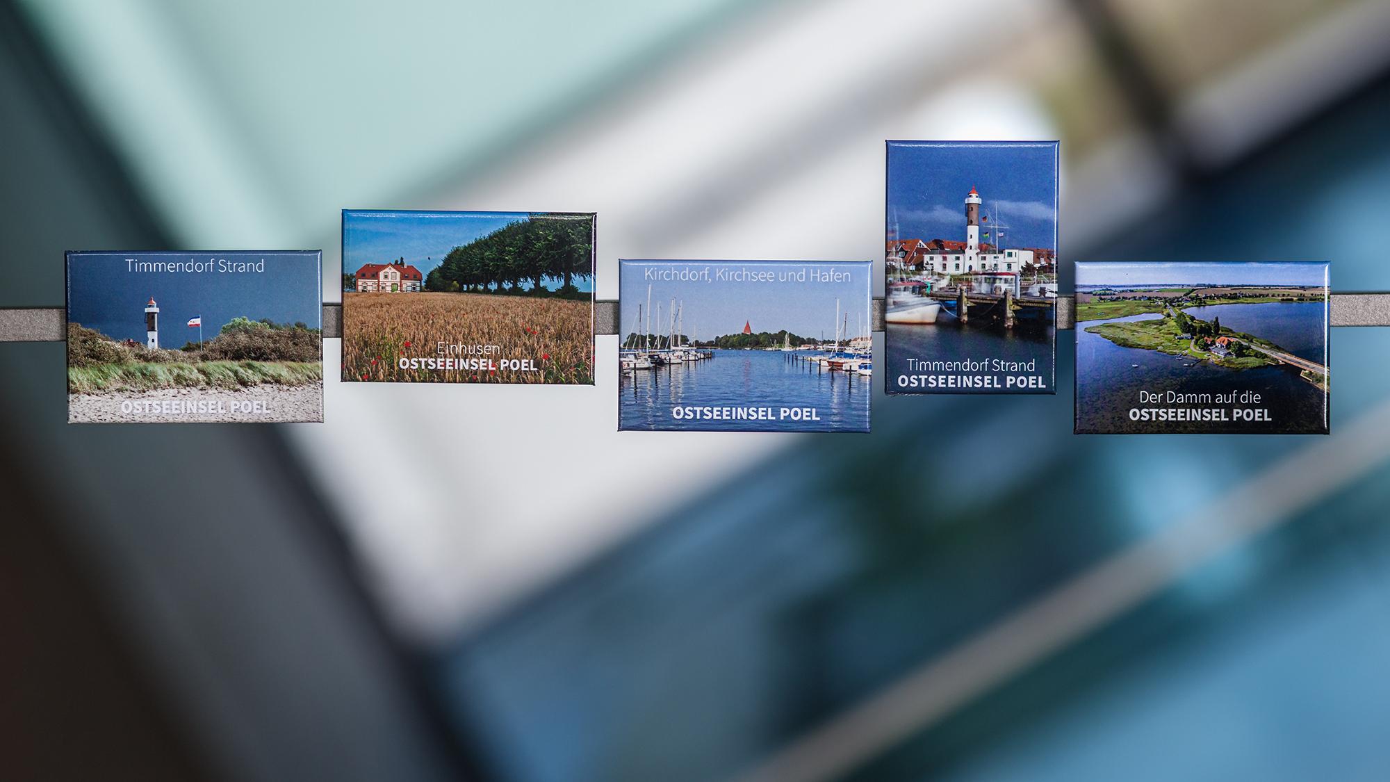 Set 2017 Magnete Insel Poel