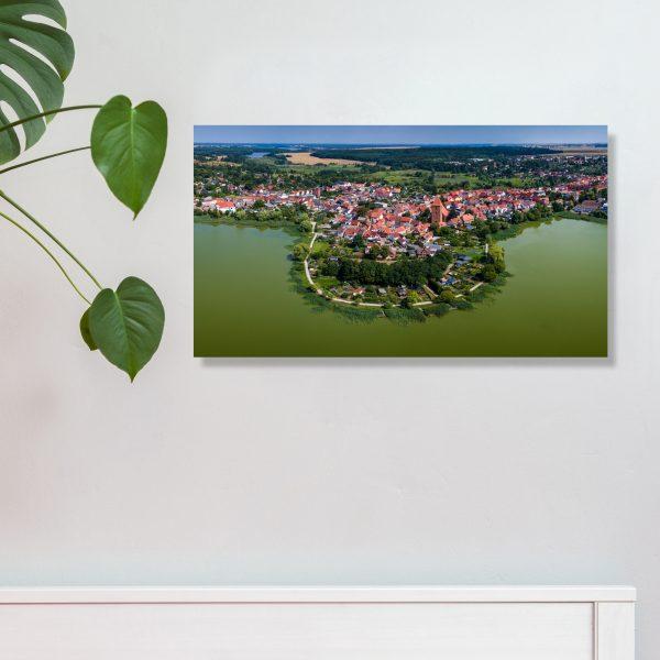 Crivitz Wandbild 42 x 24 cm