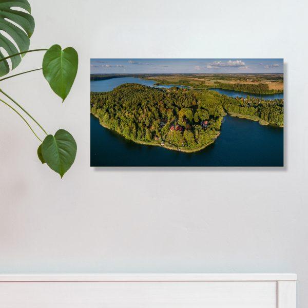 Feldberger Seenlandschaft Wandbild 42 x 24 cm